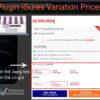 Plugin iSures Variation Prices